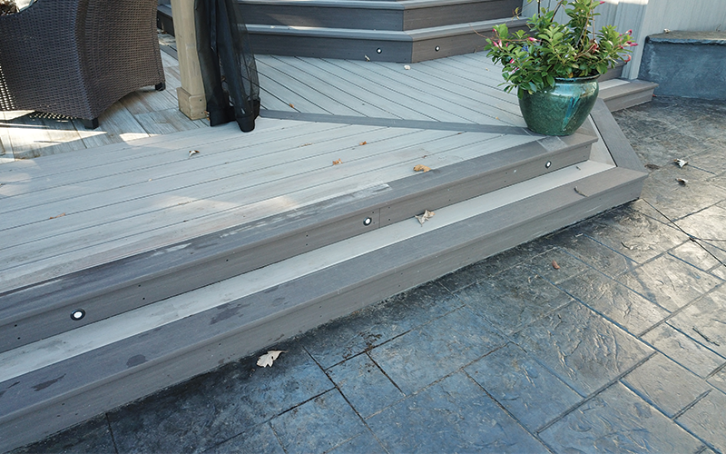 custom decking design